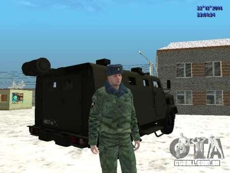 MIC-3924 Blindados Urso para GTA San Andreas vista direita