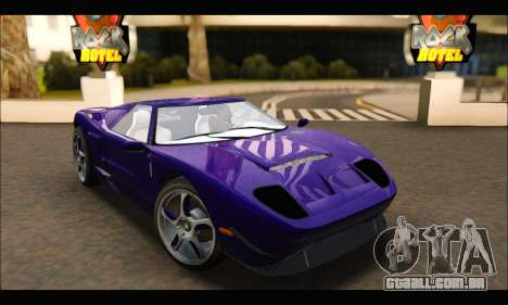 Vapid Bullet Gt (GTA IV TBoGT) (IVF) para GTA San Andreas
