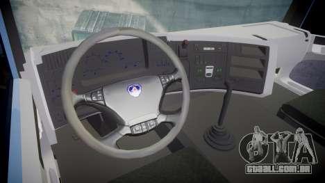 Scania 94G 300 para GTA 4 vista de volta