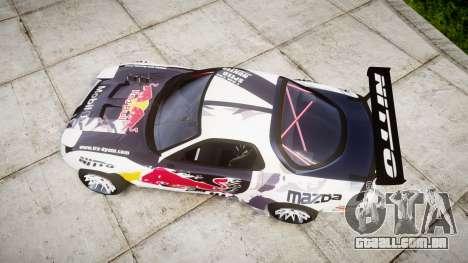 Mazda RX-7 Rocket Bunny MadMake para GTA 4 vista direita