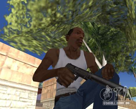 HD Weapon Pack para GTA San Andreas twelth tela