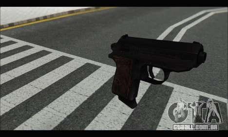 GTA ONLINE: SNS Pistol para GTA San Andreas segunda tela
