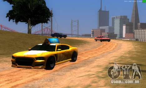 Novas rotas de transporte para GTA San Andreas segunda tela