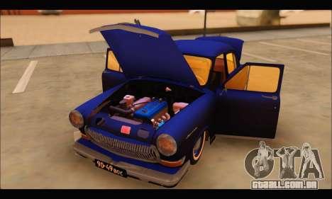 GAZ 21 Volga Resto para GTA San Andreas vista direita
