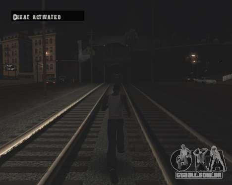 Colormod High Black para GTA San Andreas oitavo tela