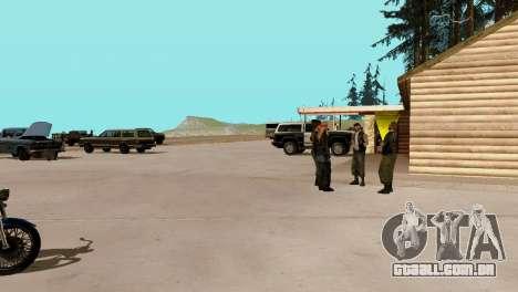 Recuperação de estações de San Fierro País para GTA San Andreas décima primeira imagem de tela