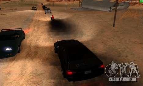 Novas rotas de transporte para GTA San Andreas oitavo tela