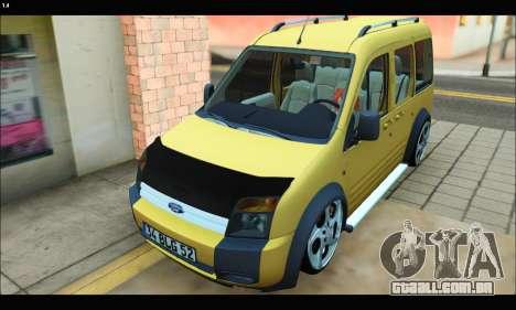Ford Transit Connect para GTA San Andreas