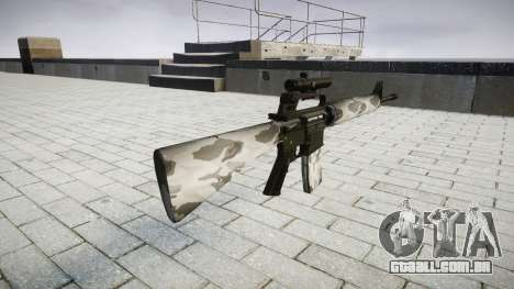 O M16A2 rifle [óptica] yukon para GTA 4 segundo screenshot