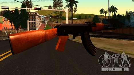 AK47 from Chernobyl 3: Underground para GTA San Andreas segunda tela