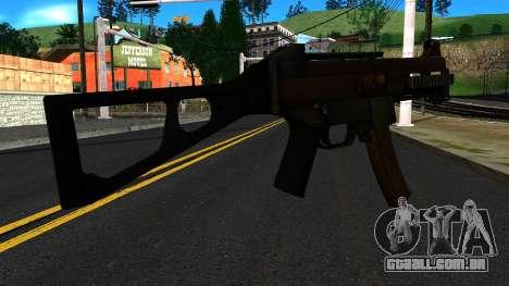 UMP9 from Battlefield 4 v2 para GTA San Andreas segunda tela
