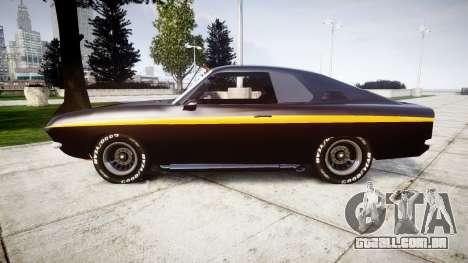 Opel Manta A Black Magic para GTA 4 esquerda vista