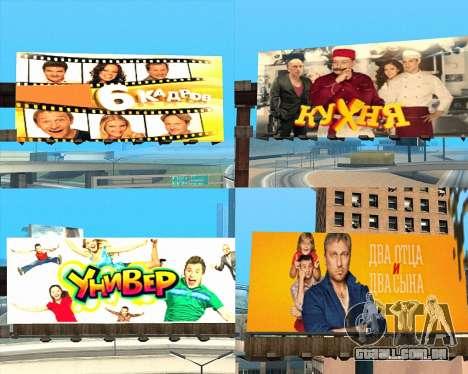 Substituição de publicidade (banners) para GTA San Andreas sétima tela