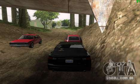 Novas rotas de transporte para GTA San Andreas sétima tela