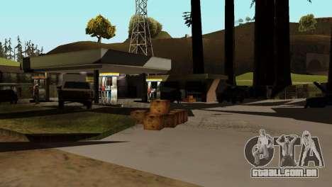 Recuperação de estações de San Fierro País para GTA San Andreas por diante tela