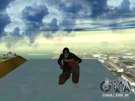 New Fam2 para GTA San Andreas por diante tela