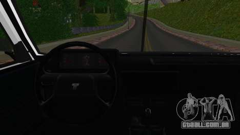 Tofas Sahin para GTA San Andreas traseira esquerda vista