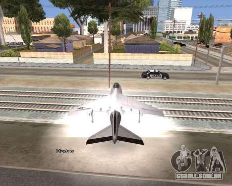 Car Name para GTA San Andreas por diante tela