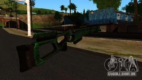 SV-98, sem Bipé e Âmbito de aplicação para GTA San Andreas segunda tela