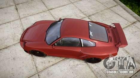 GTA V Pfister Comet 918 Wheel para GTA 4 vista direita