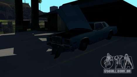 Recuperação de estações de San Fierro País para GTA San Andreas sexta tela