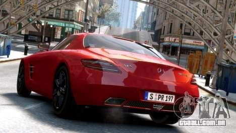 Mercedes-Benz SLS AMG 2011 [EPM] para GTA 4 traseira esquerda vista