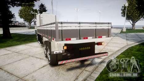 Scania 124G 400 para GTA 4 traseira esquerda vista