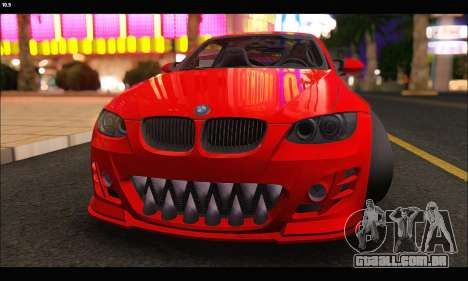 BMW M3 GTS 2010 para GTA San Andreas vista interior