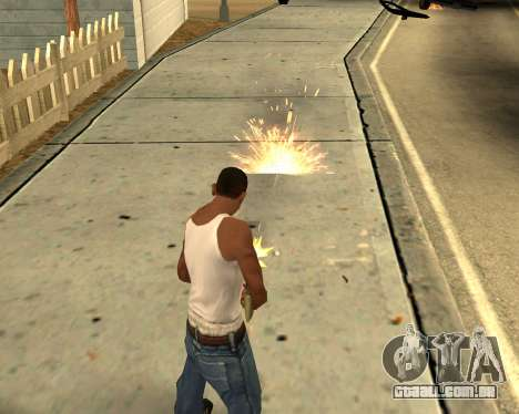 GTA 5 Effects para GTA San Andreas quinto tela