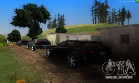 Novas rotas de transporte para GTA San Andreas quinto tela