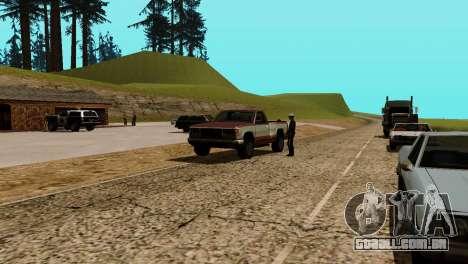 Recuperação de estações de San Fierro País para GTA San Andreas nono tela