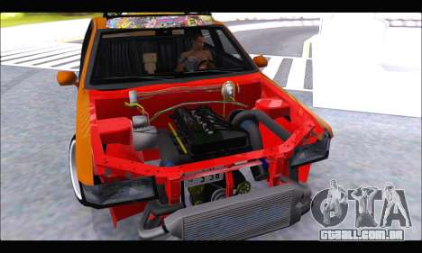 Taxi Extreme Tuning (Hellalfush) para GTA San Andreas vista direita
