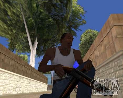 HD Weapon Pack para GTA San Andreas por diante tela