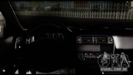Honda Civic 1.4 Mehmet ALAN para GTA San Andreas traseira esquerda vista