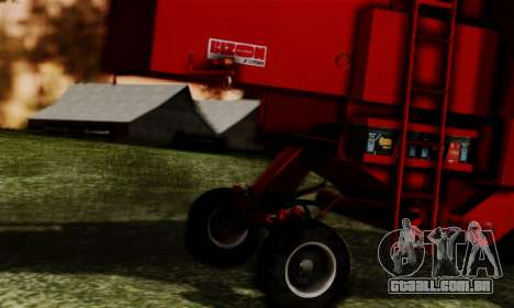 FMZ BIZON Super Z056 1985 Red para GTA San Andreas vista direita