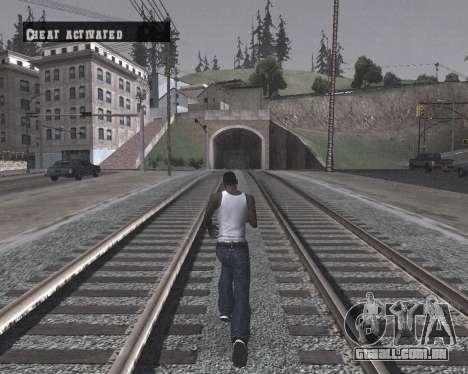 Colormod High Black para GTA San Andreas sexta tela