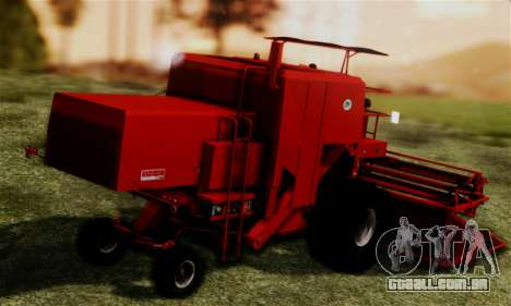 FMZ BIZON Super Z056 1985 Red para GTA San Andreas esquerda vista