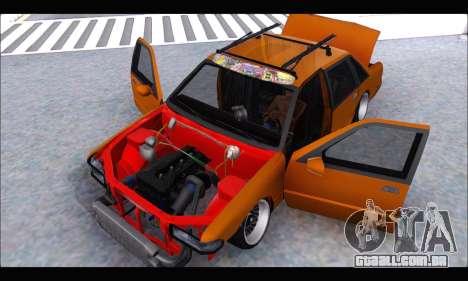 Taxi Extreme Tuning (Hellalfush) para GTA San Andreas vista traseira