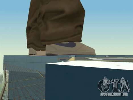 Ballas1 New Skin para GTA San Andreas quinto tela