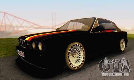 BMW M3 E30 Cabrio para GTA San Andreas