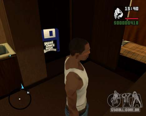 Acampamento Modificação De Versão Beta para GTA San Andreas terceira tela