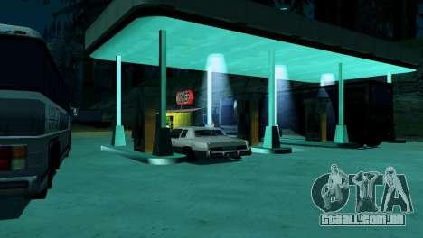 Recuperação de estações de San Fierro País para GTA San Andreas twelth tela