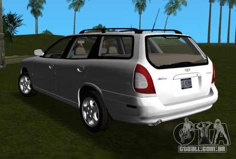 Daewoo Nubira I Wagon CDX US 1999 para GTA Vice City