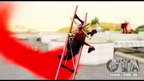Beta Stuntplane para GTA San Andreas