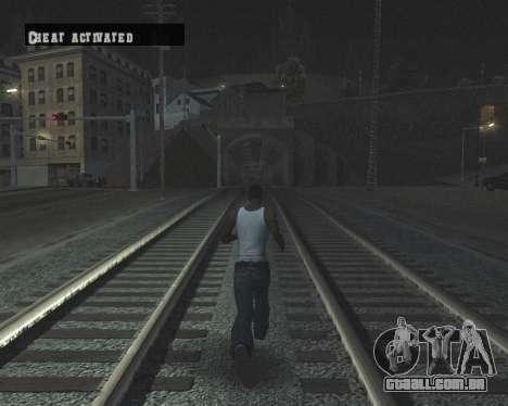 Colormod High Black para GTA San Andreas décimo tela