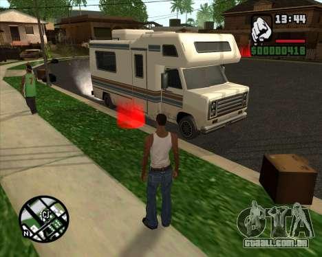 Acampamento Modificação De Versão Beta para GTA San Andreas