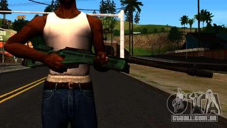 SV-98, sem Bipé e Âmbito de aplicação para GTA San Andreas terceira tela