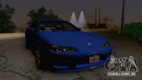 Nissan Silvia S15 Stock para GTA San Andreas