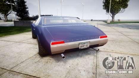 Classique Stallion Tuning para GTA 4 traseira esquerda vista
