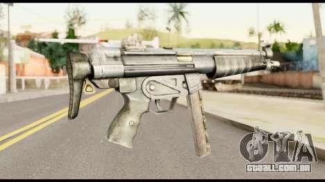 MP5 com o cano Dobrado para GTA San Andreas segunda tela